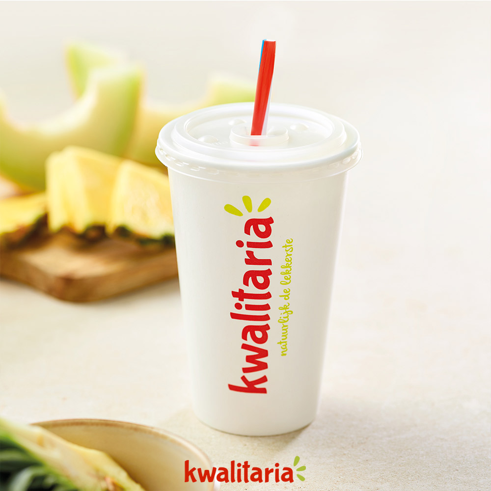 Ananas-Meloen Milkshake